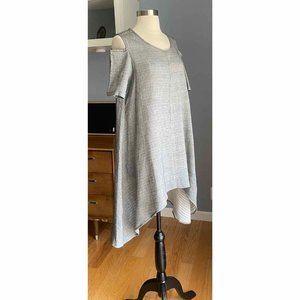 Comfy USA Cotton Gauze Tunic Asymmetric